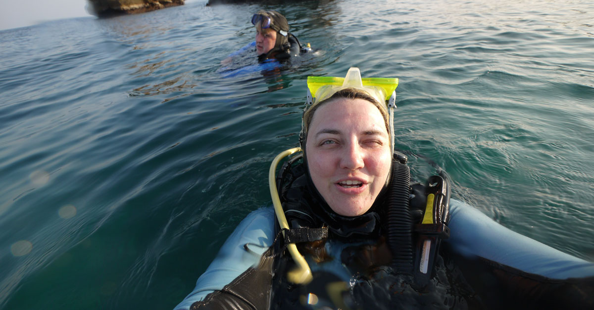 Diving with Extra Divers Sifah